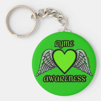 Chaveiro Coração/asas… Lyme