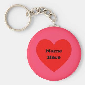 Chaveiro Coração feito sob encomenda Emoji do nome |