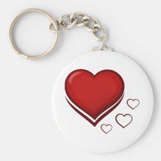 Chaveiro Coração vermelho