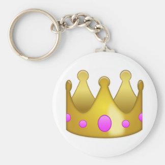 Chaveiro Coroa Emoji