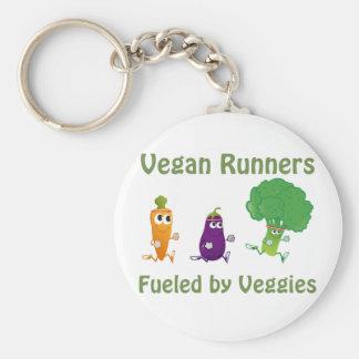 Chaveiro Corredores do Vegan - abastecidos por vegetarianos