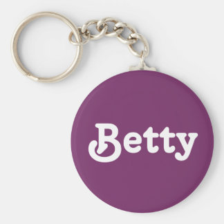 Chaveiro Corrente chave Betty