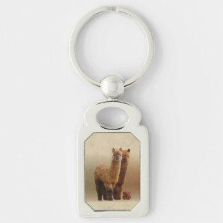 Chaveiro Corrente chave da alpaca