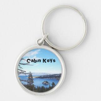Chaveiro Corrente chave da cabine de Lake Tahoe