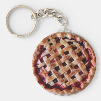 Chaveiro Corrente chave da comida da torta da cereja