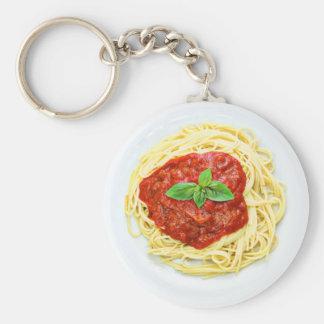 Chaveiro Corrente chave da comida engraçada da placa de