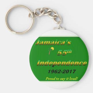 Chaveiro Corrente chave da independência jamaicana