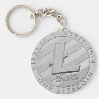 Chaveiro Corrente chave da moeda de Lite