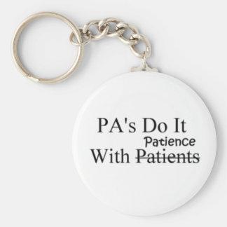 Chaveiro Corrente chave da paciência