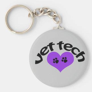 Chaveiro corrente chave da tecnologia do veterinário