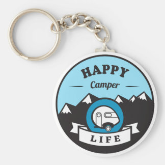 Chaveiro Corrente chave da vida do campista feliz