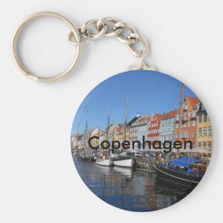 Chaveiro Corrente chave de Copenhaga