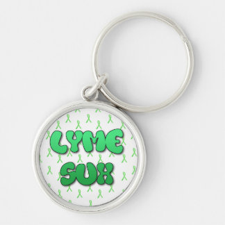 Chaveiro Corrente chave de Lyme Sux