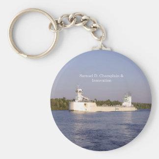 Chaveiro Corrente chave de Samuel D. Champlain & de
