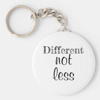"""Chaveiro Corrente chave """"diferente não menos """""""