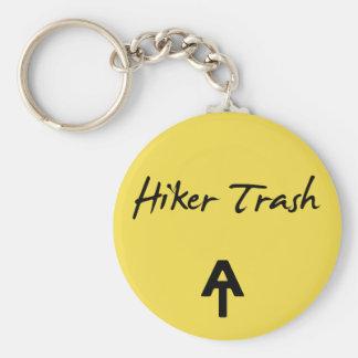 Chaveiro Corrente chave do amarelo apalaches do lixo do