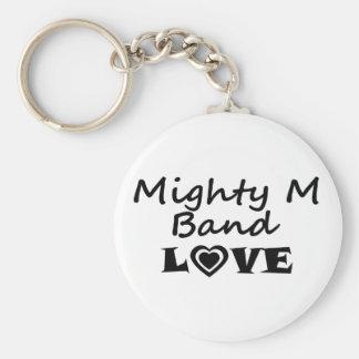 Chaveiro Corrente chave do amor poderoso da banda de M