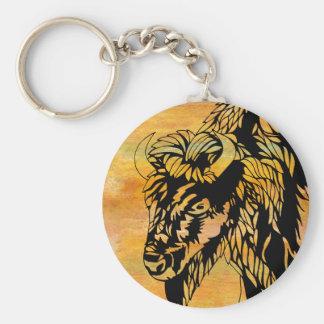Chaveiro Corrente chave do búfalo
