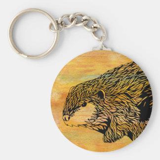 Chaveiro Corrente chave do castor