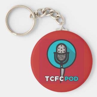 Chaveiro Corrente chave do logotipo verdadeiro do clube de