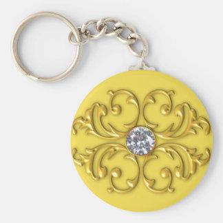 Chaveiro Corrente chave do ornamento do ouro