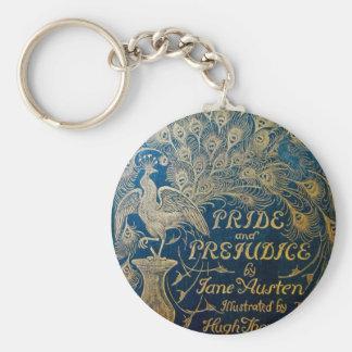 Chaveiro Corrente chave do pavão do orgulho & do