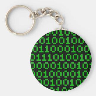 Chaveiro Corrente chave do pixel binário
