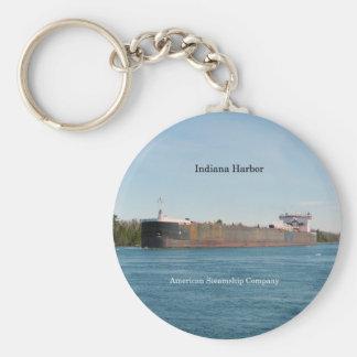 Chaveiro Corrente chave do porto de Indiana