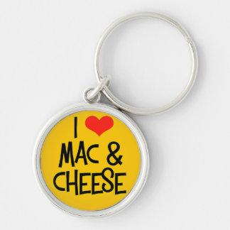 Chaveiro Corrente chave do queijo do Mac n