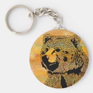 Chaveiro Corrente chave do urso
