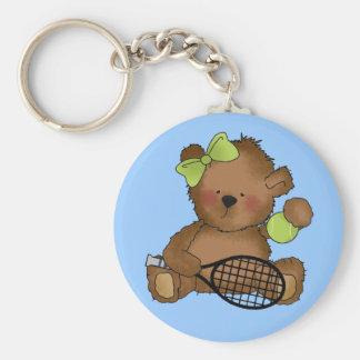 Chaveiro Corrente chave do urso do tênis