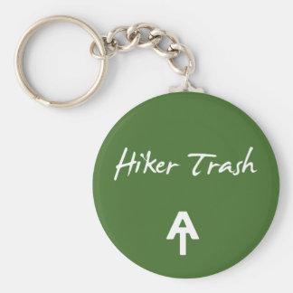 Chaveiro Corrente chave do verde apalaches do lixo do