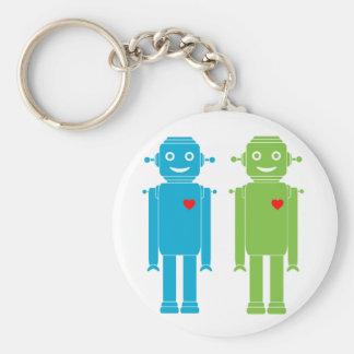 Chaveiro Corrente chave dos robôs alegres de LGBT