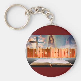 Chaveiro Corrente chave dos sinais bíblicos