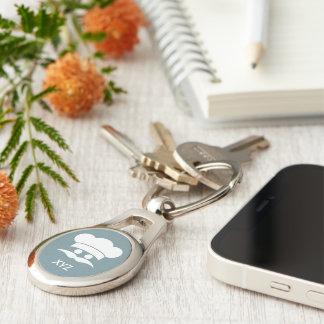 Chaveiro Corrente chave feita sob encomenda da cor & do
