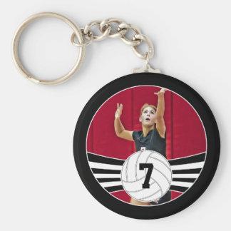 Chaveiro Corrente chave feita sob encomenda do voleibol do