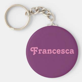 Chaveiro Corrente chave Francesca