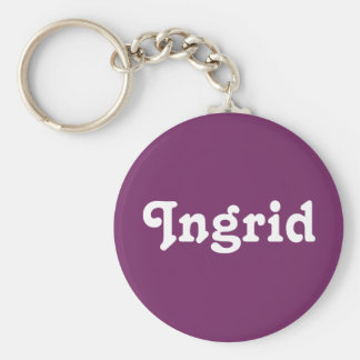 Chaveiro Corrente chave Ingrid