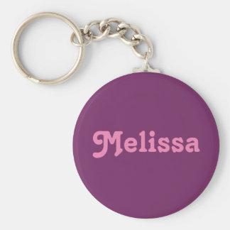 Chaveiro Corrente chave Melissa