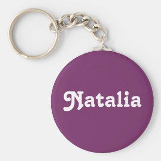Chaveiro Corrente chave Natalia