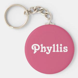 Chaveiro Corrente chave Phyllis