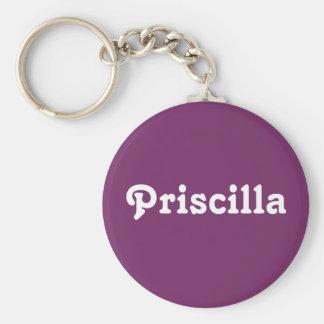 Chaveiro Corrente chave Priscilla