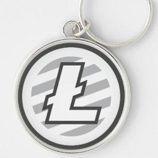Chaveiro Corrente chave redonda superior do logotipo de