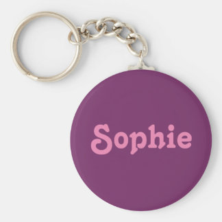 Chaveiro Corrente chave Sophie