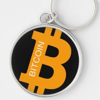 Chaveiro Corrente chave superior do logotipo de Bitcoin