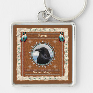 Chaveiro Corvo - corrente chave mágica sagrado