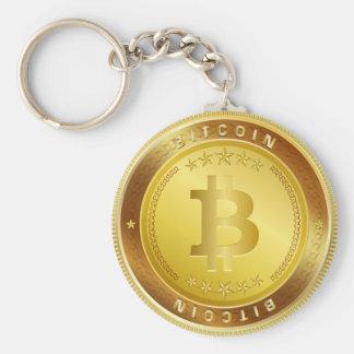 Chaveiro cripto de Cryptocurrency do símbolo do