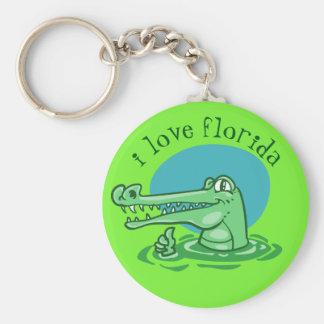 Chaveiro crocodilo engraçado desenhos animados aprovados