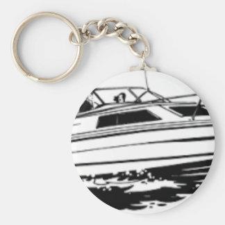 Chaveiro Cruzador do barco da velocidade