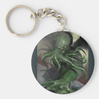 Chaveiro Cthulhu cavalo-força de aumentação Lovecraft